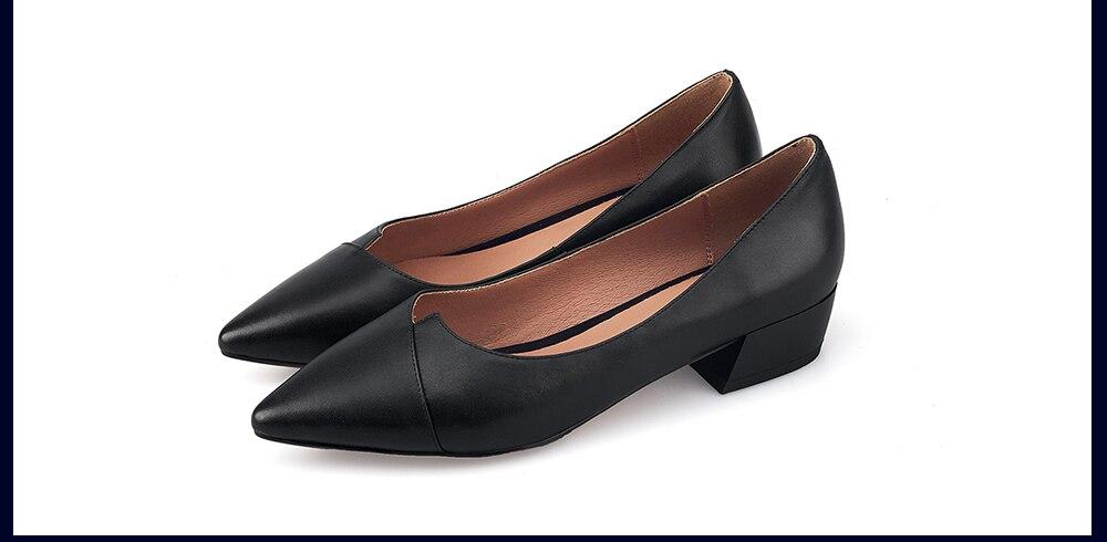 toe sapatos de couro genuíno de alta