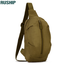 Men Camouflage Nylon Chest Pack Military MOLLE Chest Shoulder Bag Hunting Travel Equipment Men's Waterproof Travel Waist Bag