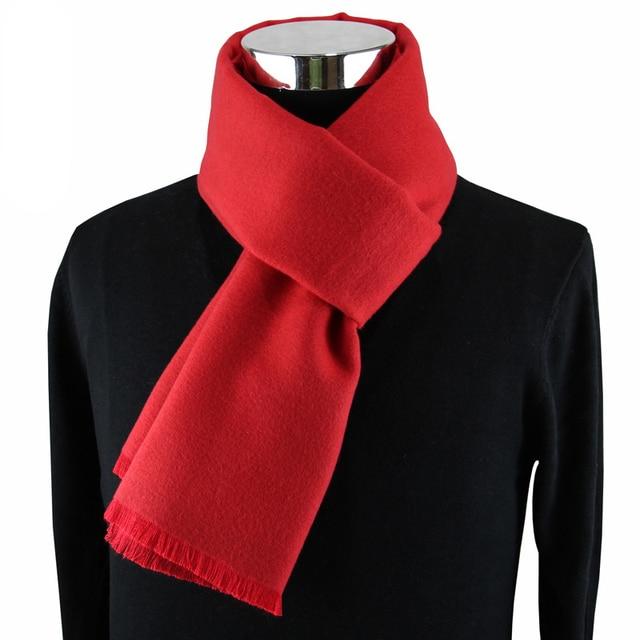 Мужской кашемировый шарф на каждый день 3