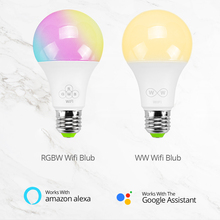 Dimmable LED Light Smart Bulb with RC and Voice Control