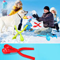 New Winter Grenade Shaped Snow Clay Ball Maker Sand Mold Tool Kids Toy Snow Scoop Maker Clip Outdoor Sports Child Toys