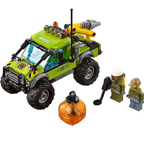 Bevle 10638 Bela City Series Volcano Exploration Truck Geological Prospecting Building Block Bricks Toys Gift For Children 60121 sermoido 02012 774pcs city series deep sea exploration vessel children educational building blocks bricks toys model gift 60095