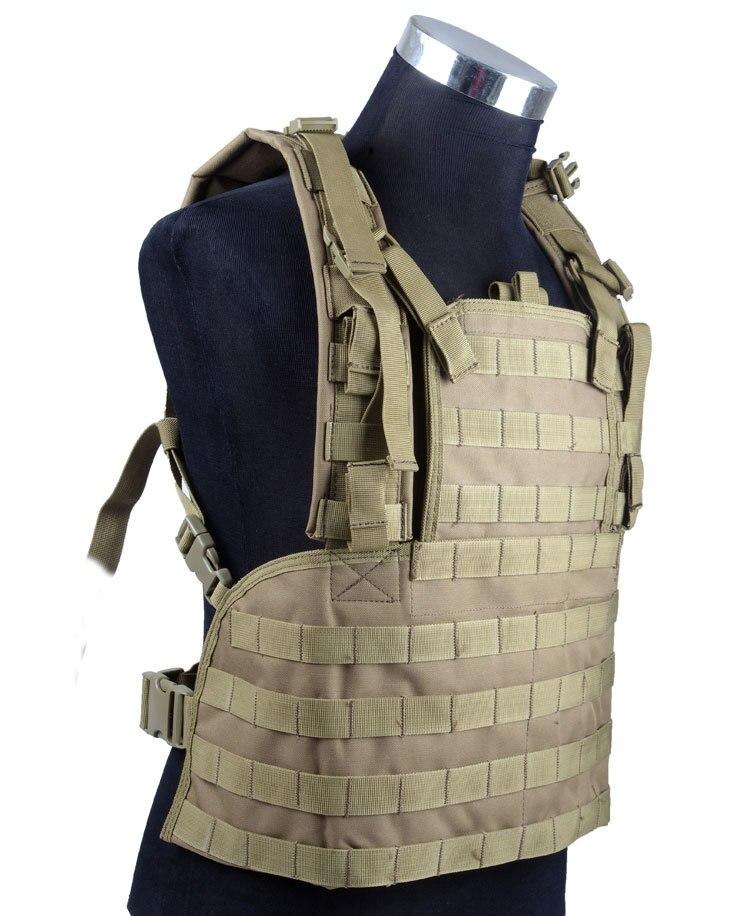 Professionnel sans accessoires gilet de couverture de poitrine tactique équipement tactique gilet militaire