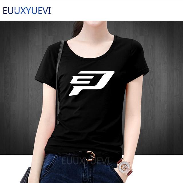 Chris Paul Logo Women T Shirt Tops Woman Fashion Short Sleeve Cotton