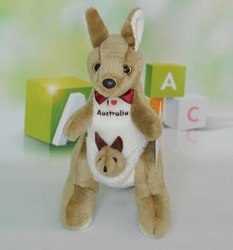 Doll  Plush Kids Toys For Children  Australian Kangaroo  Mum and Baby