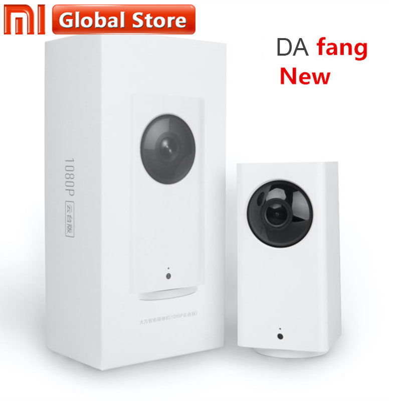 Xiaomi Mijia New Dafang Smart Home 110 Degree 1080p HD Intelligent Security WIFI IP Cam Night Vision For Mi home app