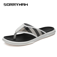 Men Flip Flops Sandals Casual Summer Men's Beach Slipper Non-slip Male Slippers Zapatos Hombre Male Flats Sandals outdoor
