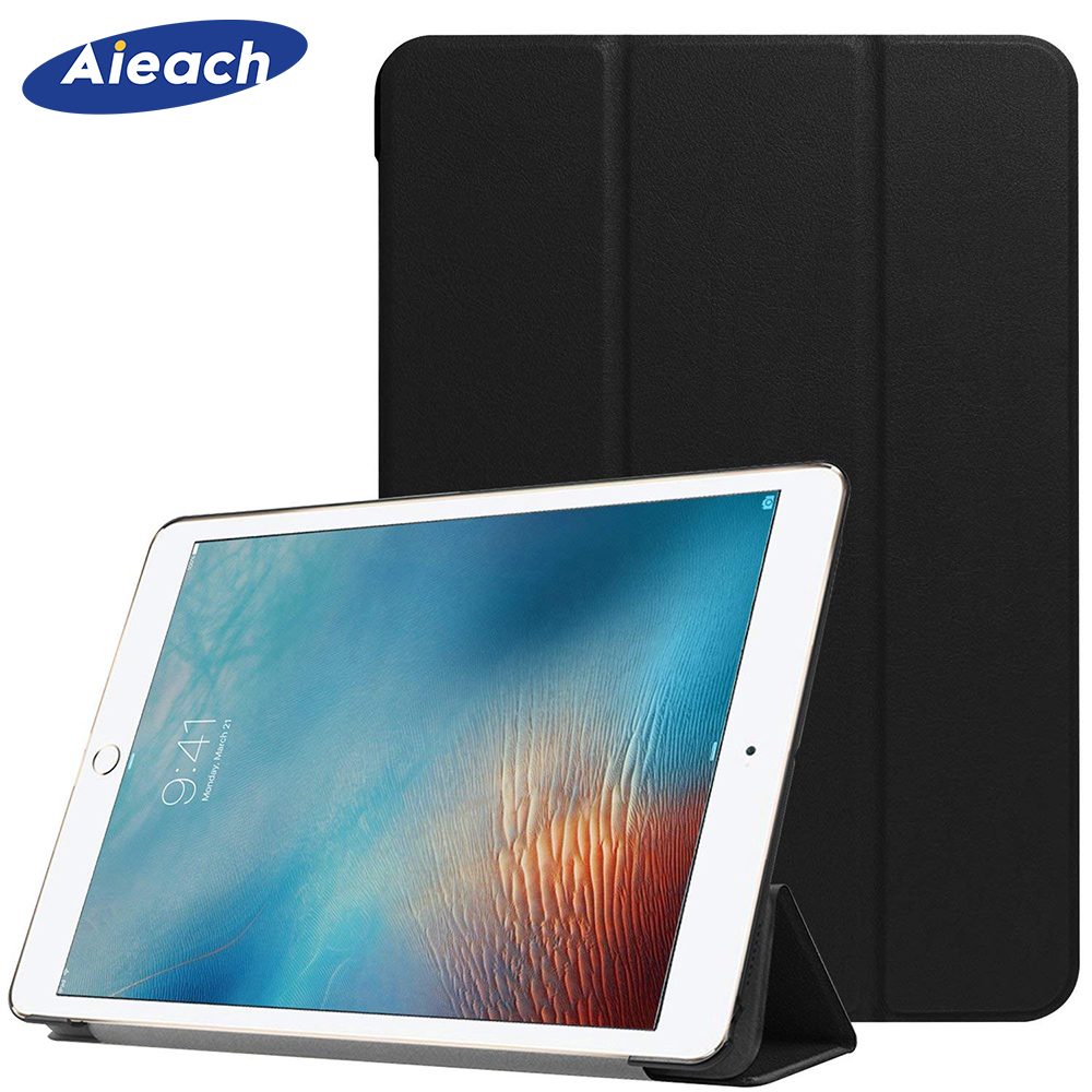 Cover Case For iPad Pro 12.9 2015 2017 Release Leather Magnetic Trifold Stand + PC Hard Back Cover For iPad Case 12.9 Pro FundaCover Case For iPad Pro 12.9 2015 2017 Release Leather Magnetic Trifold Stand + PC Hard Back Cover For iPad Case 12.9 Pro Funda