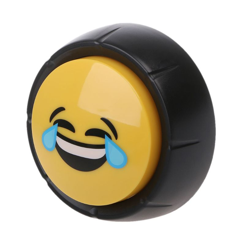 1Pc Novelty Big Laugh Button Laugh Sound Button Desktop Sound Toy Baby Toy Great For Parents Co-Workers Gag Joke New Toy