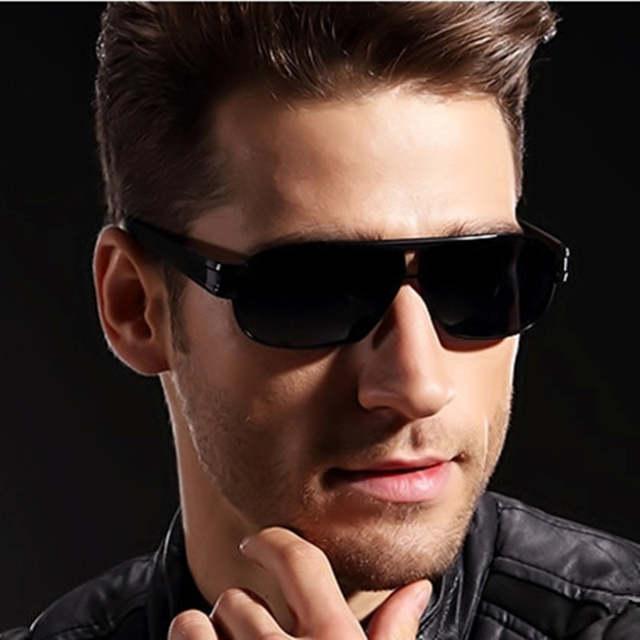 0f85293d3e VEGA Mens Polarized Military Sunglasses For Police Driving Square UV  Sunglasses Black Glasses For Men Anti