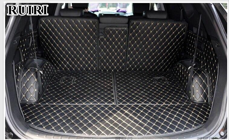 Set completo de alfombrillas para maletero del coche para Hyundai - Accesorios de interior de coche