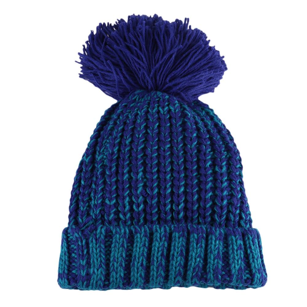 Winter Baby Hats Knit Beanie Baby Hat For Kids Children Pom Pom Hats For Boys Girl