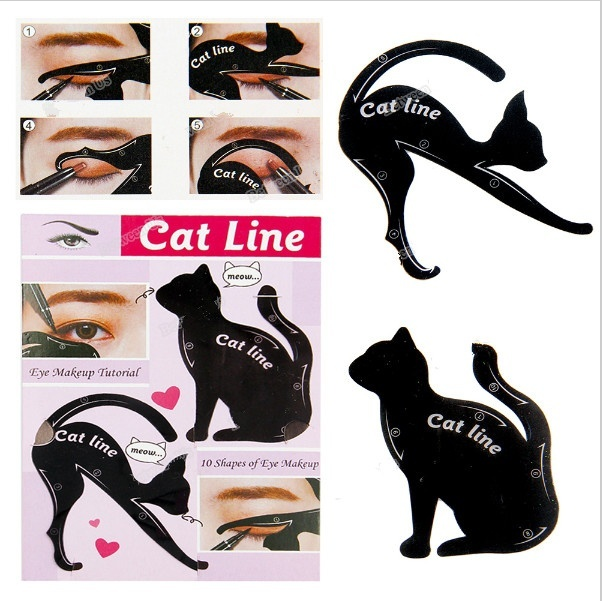 Multifunction Cat Line eyeliner Makeup Tools 2