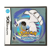 Nintendo NDS Game Pokemon Soulsilver Video Game Cartridge Console Card US English Language Version