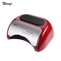 Professional 48W CCFL UV LED Lamp Nail Dryer Cure Nail Polish Gel Nail Lamp Art Manicure Tools Automatic Induction