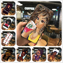 2 Bunz Melanin Poppin Aba Ponsel Case untuk iPhone 7 8 X XR Xsmax Kasus Silicone Hitam untuk Samsungs7 S8 S9 case Cover(China)