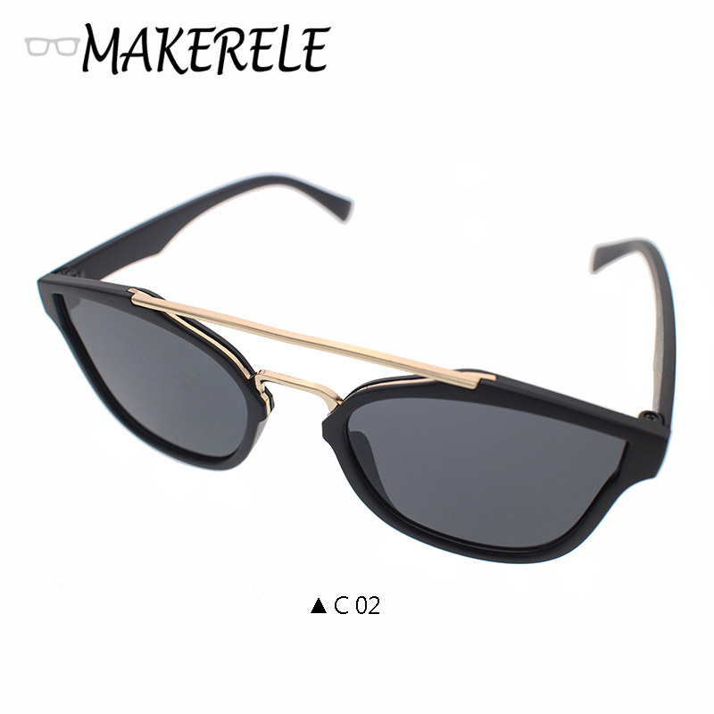 Free Shipping Makerele sliver blue black green colors Women Sunglasses Brand Designer unisex Sun Glasses uv400 Goggle tyj5130