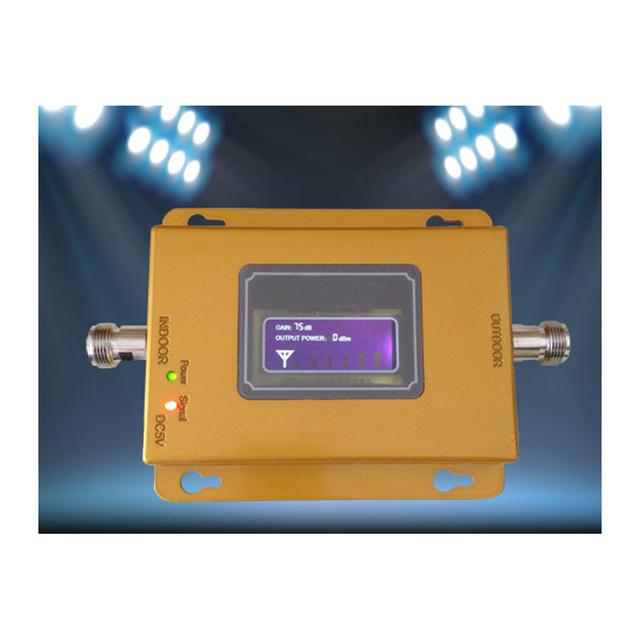 2016 nuevo Móvil 3G Amplificador de Señal 3g Repetidor de Señal Del Amplificador, Pantalla LCD Mini 70db 3G LTE WCDMA UMTS 2100 Mhz 3G Repetidor