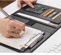Многофункциональная папка для документов А5  папка для менеджера по продажам  папка для контракта  планшет для бумаг  блокнот  калькулятор