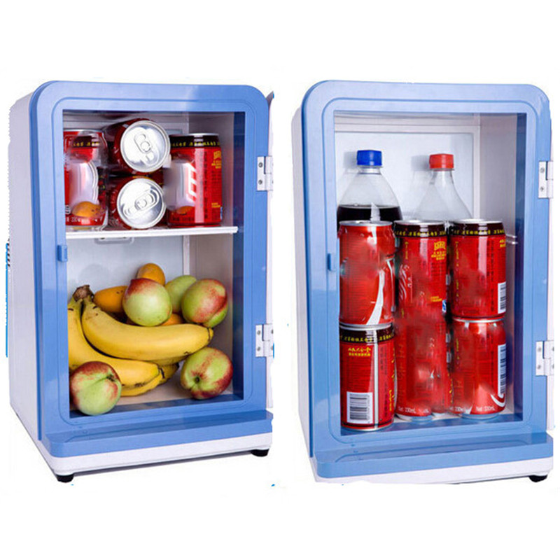 12L 2017 New Car Mini Refrigerator Cooling And Heating Portable Mini  Refrigerator Freezer Auto Temperature Refrigerator In Refrigerators From  Automobiles ...