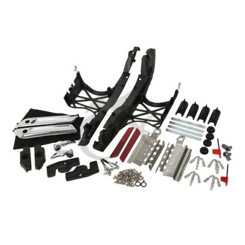 TCMT один комплект седельная сумка крышки с защелками Чехлы для оборудования для Harley Touring Glide 2014 2019 17 FLT FLHT FLHTCU FLHRC мотоцикл