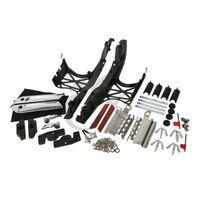 TCMT один комплект сума крышки с защелками Чехлы для оборудования для Harley Touring Glide 14 18 17 FLT FLHT FLHTCU FLHRC мотоцикл