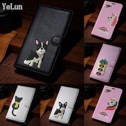 На Алиэкспресс купить чехол для смартфона yelun for lg k40 g8 thinq v50 thinq 5g angry eyes bear bulldog wallet leather pouch case stand skin