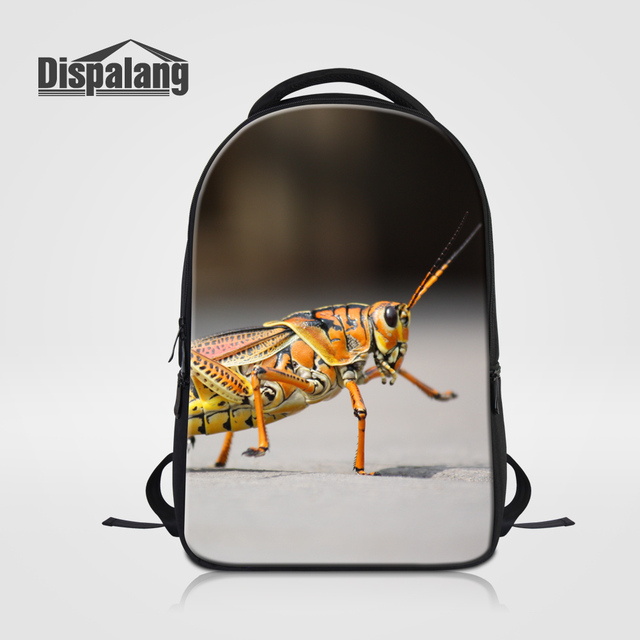 Dispalang Insect School Bags Bookbag For Girls Boys Snail Printing Backpack  For Traveling Men s Casual Daypack 5c9fbdd9a2217