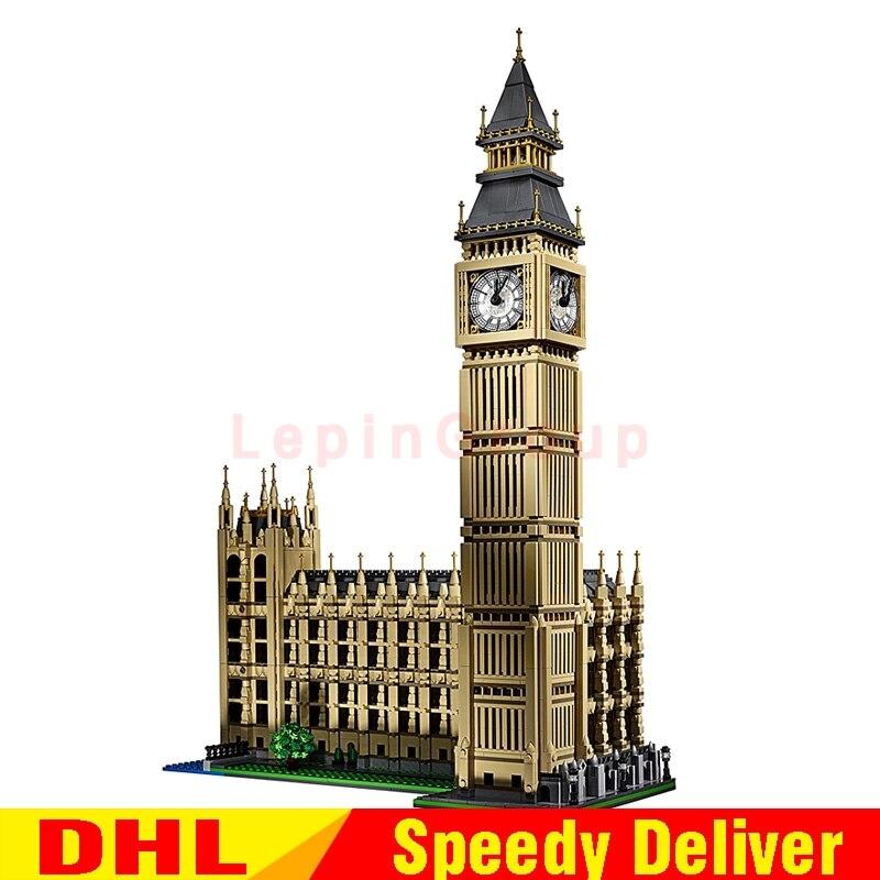 LEPIN 17005 4163Pcs City Big Ben Model Building Kit Set Blocks Bricks Children lepin Gift legoings Toys lone 10253