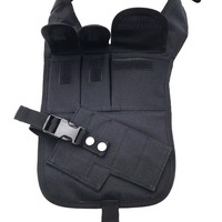 Tactical Anti thief Hidden Security Multi Bag Underarm Shoulder Armpit Bag pistol Holster Portable with Pouches Theftproof Pack