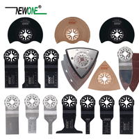 NEWONE 66 pcs Pack Starlock E cut Multi Cutter Saw Blades Set Oscillating Tool Blades for Cutting Wood Drywall Plastics Metal