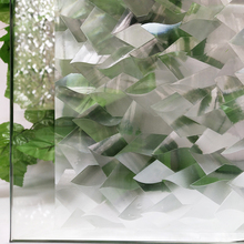 60*200 cm decorative Windows Films - 3D Crystal Icicles design Doors Privacy Stickers Glass Cling Self Adhesive Home