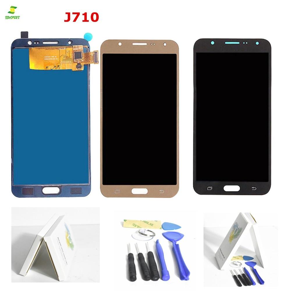 5.5 ''LCD J7 2016 pour SAMSUNG Galaxy J7 2016 LCD écran tactile numériseur pour SAMSUNG J7 2016 écran LCD J710 J710F