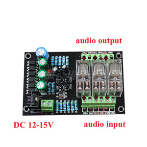 Image 2 - 디지털 전원 3x300 w 앰프 오디오 스피커 보호 보드 omron 자동차 dc 스피커 보호 보드 A5 015