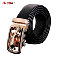 Fashion Ceinture Luxury Pure Genuine Leather Belts For Men High Quality Deduction Belt Black Gold Men Cinto Masculino Couro