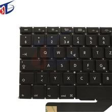 Original Switzerland Keyboard clavier for MacBook Pro Retina 15″ Laptop A1398 Swiss Suisse CH Keyboard Keypad 2012-2015 year