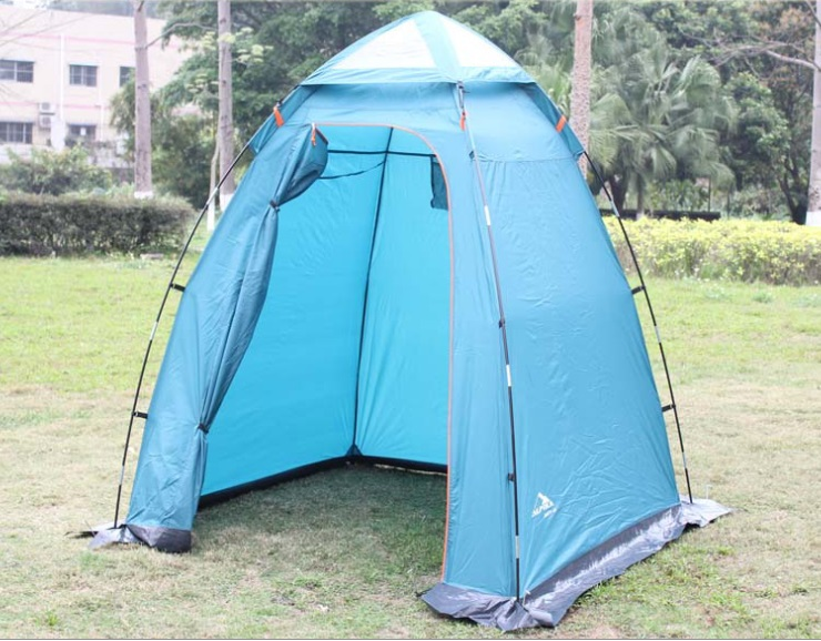 Single person portable move outdoor oversized shower tent changing tent mobile toilet in good quality accept wholesale order-in Tents from Sports ... & Single person portable move outdoor oversized shower tent changing ...