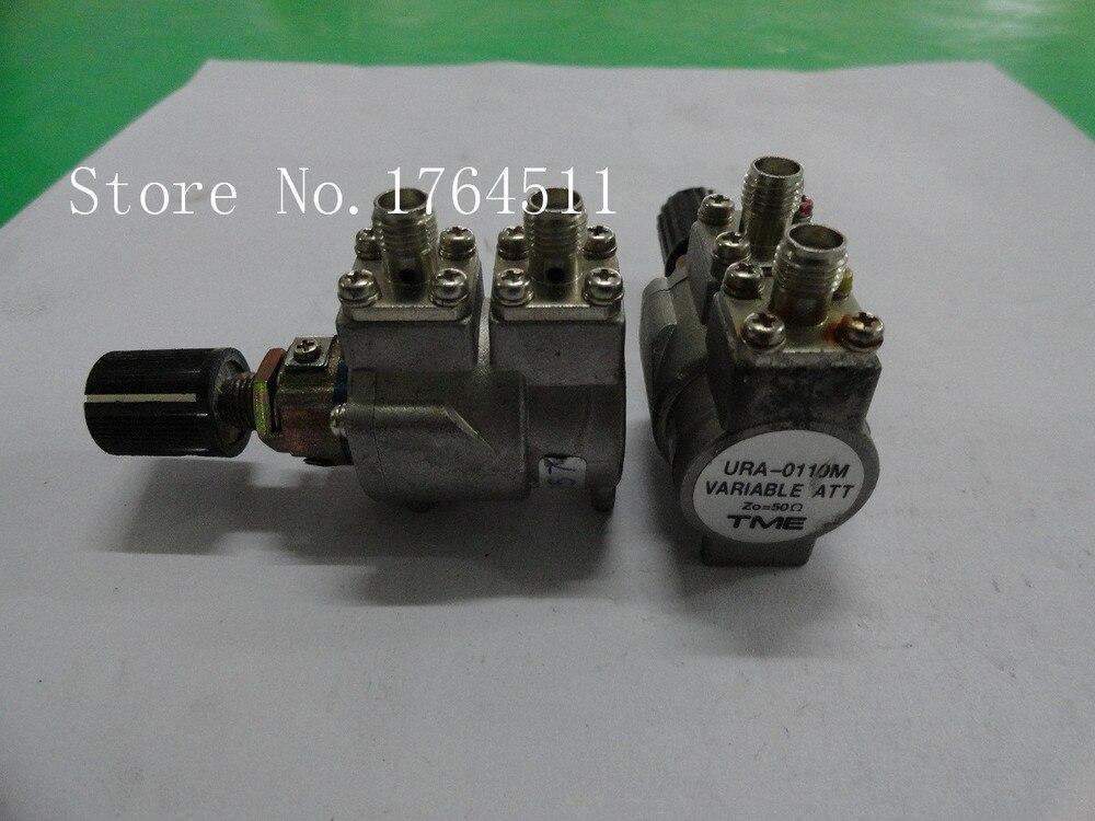 [BELLA] TME URA-0110M 10dB DC-3GHz Adjustable Step Attenuator SMA  --2PCS/LOT