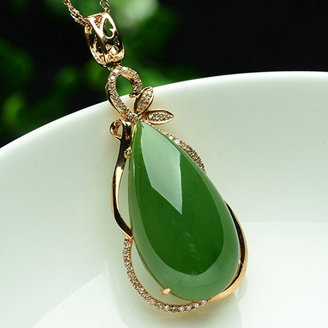 Selection of high end 18k gold inlay natural and nephrite jade selection of high end 18k gold inlay natural and nephrite jade pendant drop counter genuine aloadofball Image collections