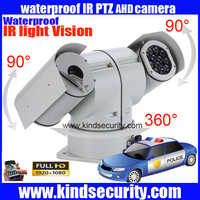 IP 66 1080P AHD PTZ High Speed camera 1080P Policecar AHD Vehicle CAR high speed AHD PTZ camera