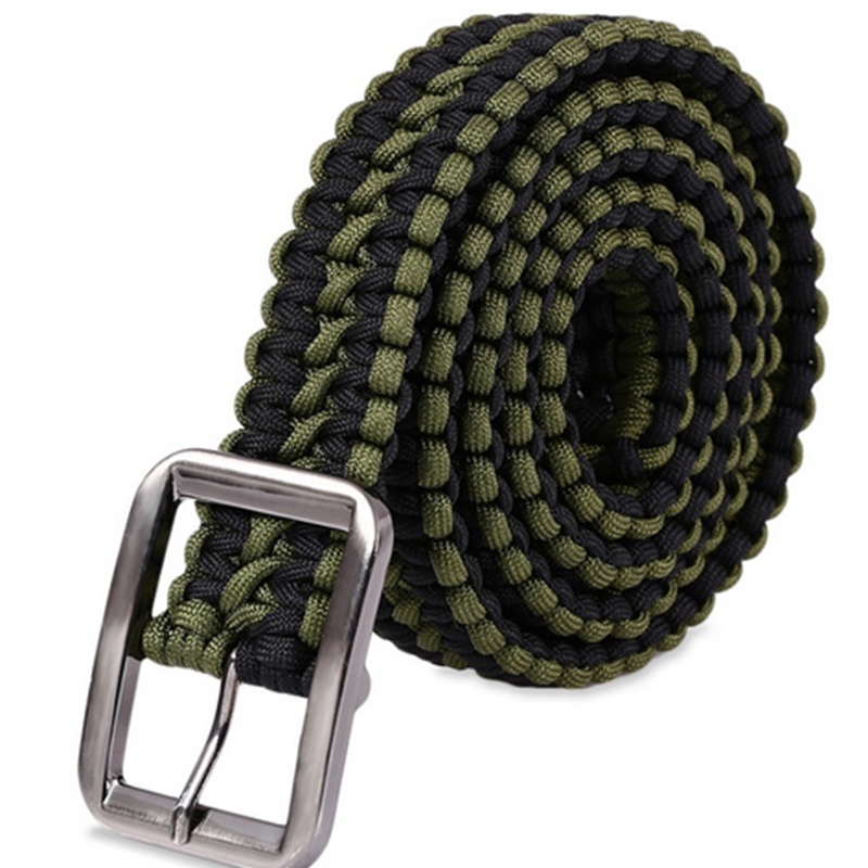 1PC Outdoor Camping Paracord Parachute Cord Emergency Survival Bracelet Rope New Survival Paracord 480 parachute cord strong 100 feet 4mm diameter paracord 7 strand parachute cord rope climbing military outdoor activities supplies