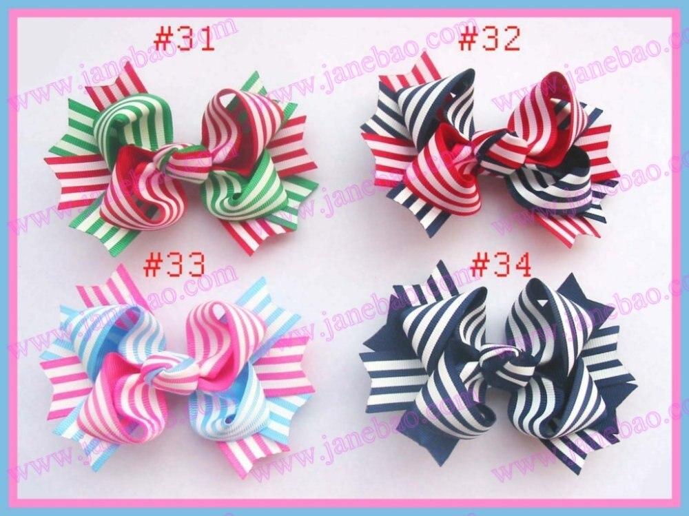100 шт., модные, 3,5 дюйма, двухцветные, изысканные заколки для волос, заколки для волос для девочек, заколки для волос, аксессуары
