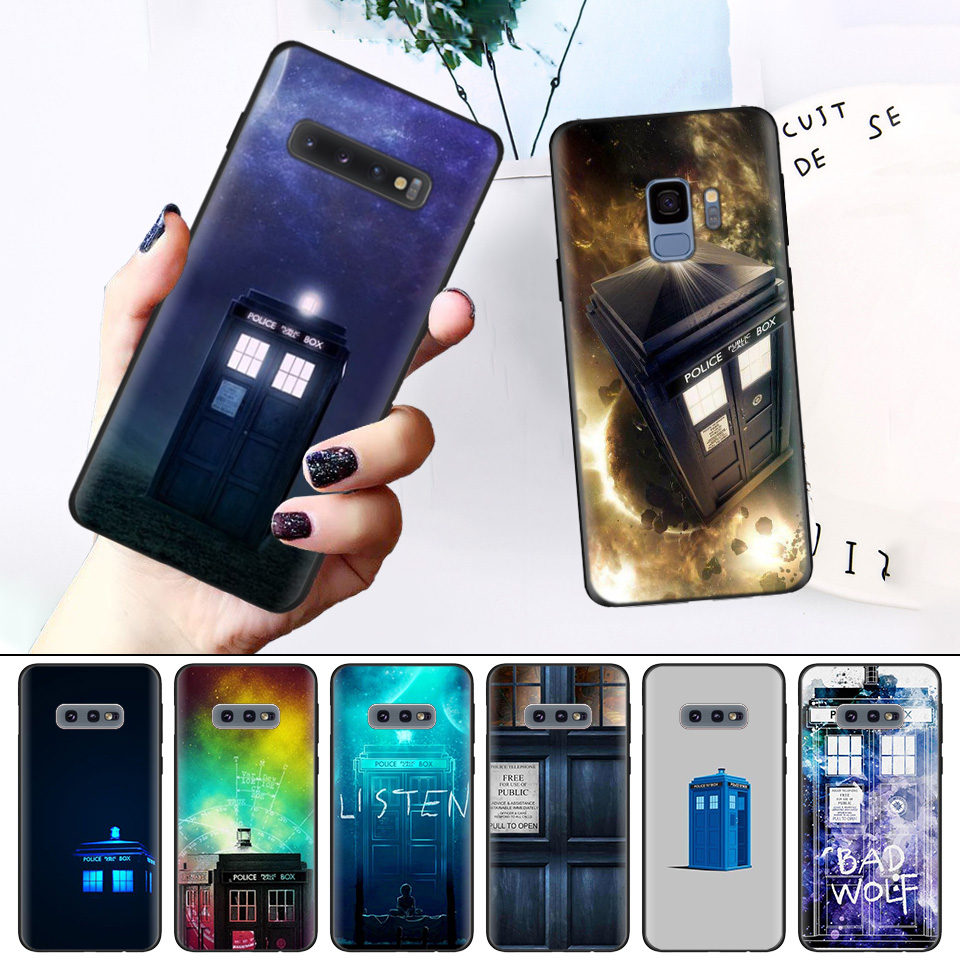 Cellphones & Telecommunications Motivated Phone Pattern For Samsung Galaxy S8 S9 S10 S10e S10 Plus M20 S6 S6edge S7 S7edge Silicone Soft Case Shell Tardis Box Doctor Who Possessing Chinese Flavors