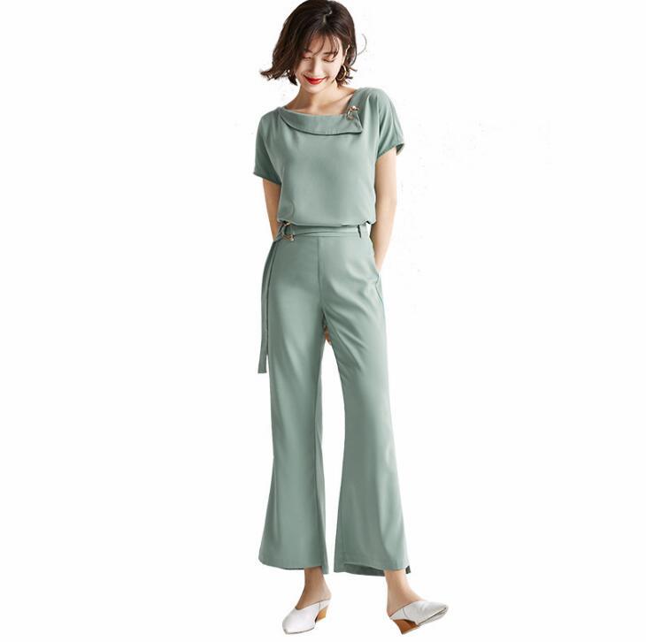 Poème snow Fashion vêtement de haute qualité pour femme OL costume professionnel avec peau lâche et manches courtes minces