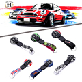 Key Cover Case for MINI One Cooper Accessories F56 F55 Key Fob Hardtop Replacement Key Cap Keychain Keyholder Union Jack Checker