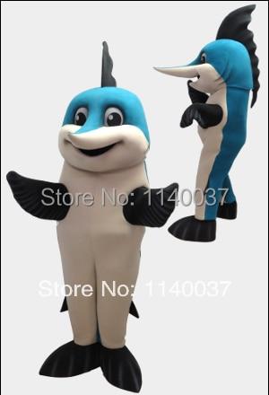 mascotte marlin dolfijn mascotte kostuum custom fancy kostuum anime - Carnavalskostuums
