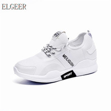 Spring and Autumn New Womens Casual Shoes Solid Color Mesh Vulcanize
