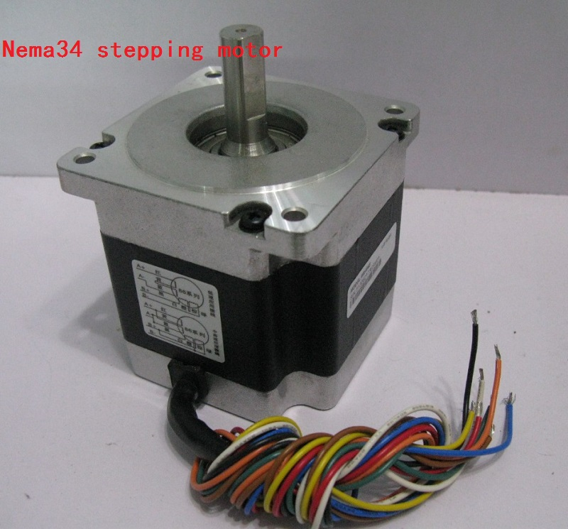 Leadshine two-phase step Motor 86HS45 4.5N.m/45kgf.cm hybrid stepper motor Nema34 stepping motor smdr01 thb7128 3a segment type two phase hybrid stepping motor drives 128 segment 42 60