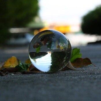 Photography Crystal Ball Ornament FengShui Globe Divination Quartz
