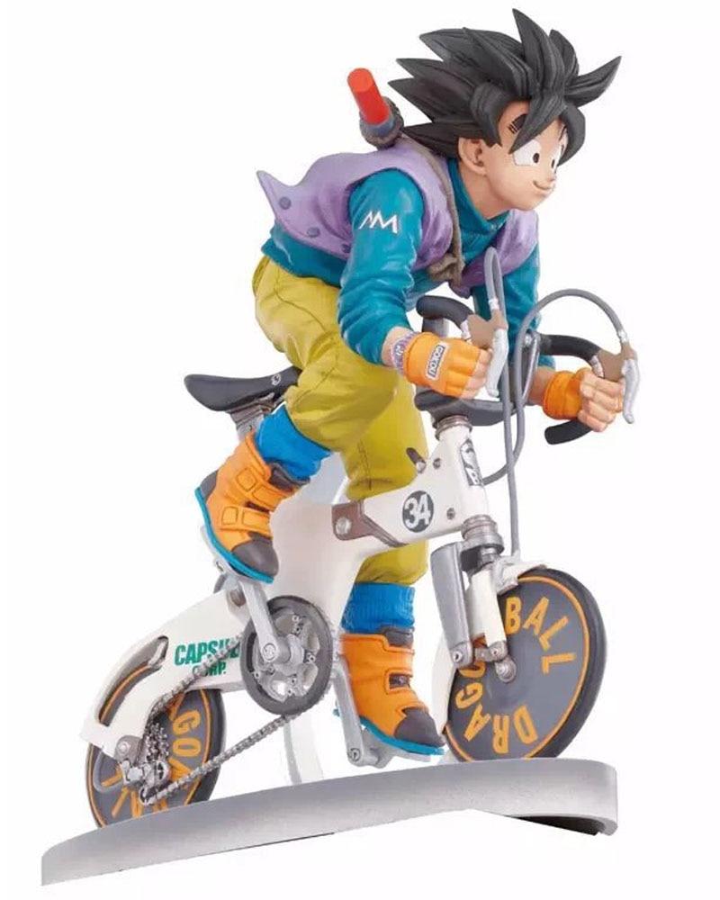 Classic Japan Anime Comic Akira Toriyama Dragon Ball Son Goku Kakarotto Bicycle Bike 16cm Figure Toys New Gokou B0093 Toy Yacht Toy Fairiestoy Story Piano Music Aliexpress